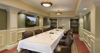 Meeting room at Inn at Pelican Bay.
