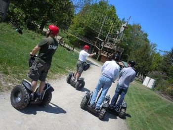 Segway tours at Jiminy Peak Mountain Resort.