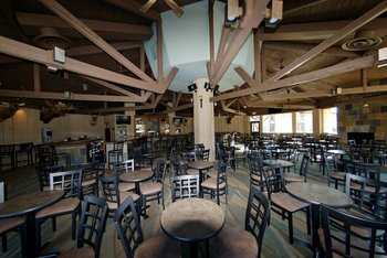 Dining at Devils Head Resort & Convention Center.