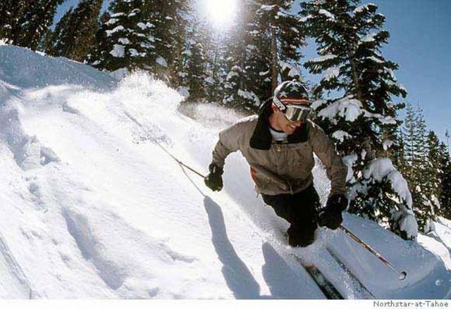 Skiing near Pullen Rental Group.