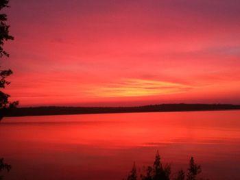 Sunset at Northridge Inn & Resort.