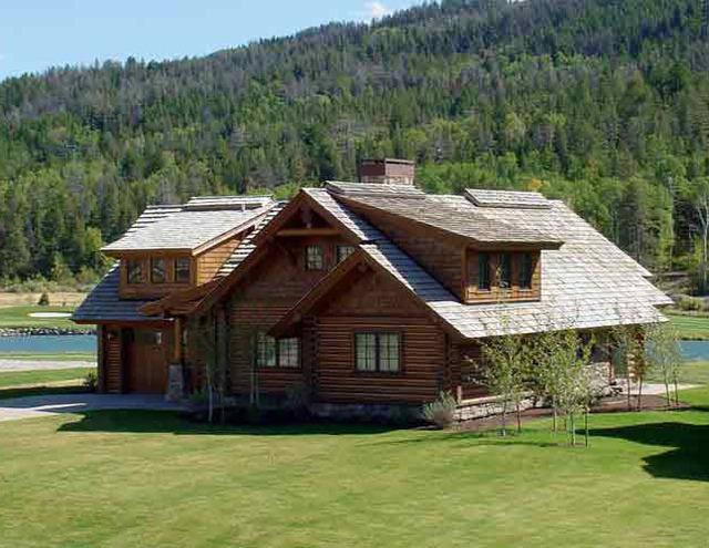 Lodge view at Teton Springs Lodge.
