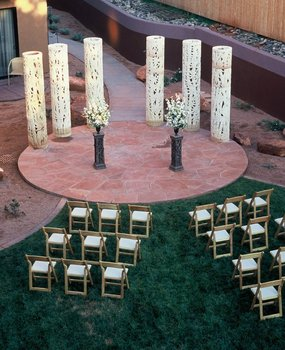Wedding Ceremony at Sedona Rouge Hotel