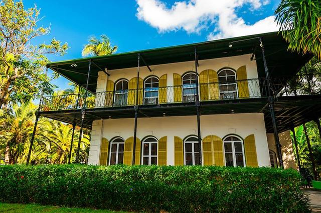 Ernest Hemingway House near The Banyan Resort.