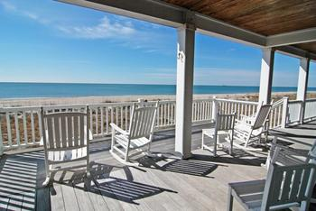 Deck view at Bald Head Island Limited.