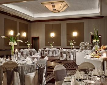 Wedding reception at The Chattanoogan.