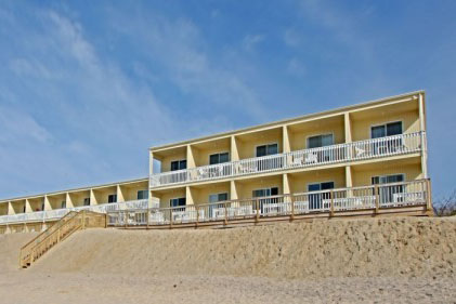 Exterior View of Ocean Beach Resort