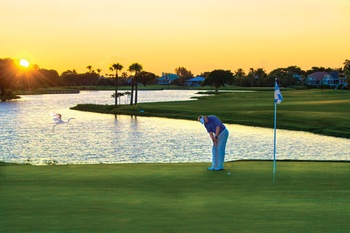 Golf course at The Inns of Sanibel.