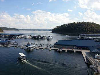 The Marina at Jamestown Resort and Marina.