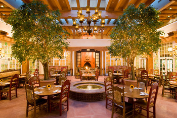 Dining Area at La Fonda on the Plaza