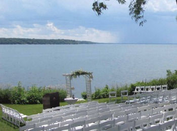 Wedding Ceremony at Heidel House Resort