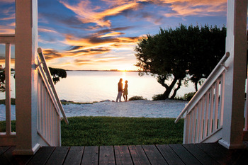 Romantic sunsets at Hawks Cay Resort.