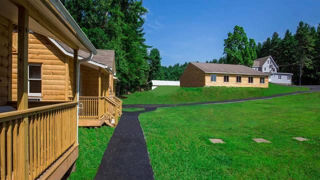 Cabins at Catskill Mountains Resort.