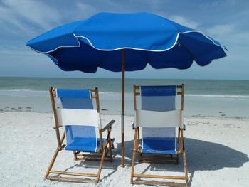 Relax on the Beach at Gullwing Beach Resort