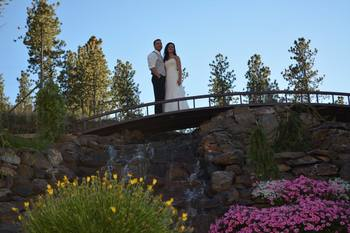 Wedding at Summer Creek Inn & Spa.