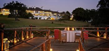 Exterior view of Mount Kenya Safari Club.