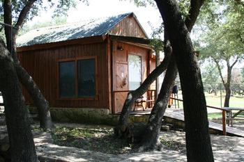 Guest cabin at The Exotic Resort Zoo.