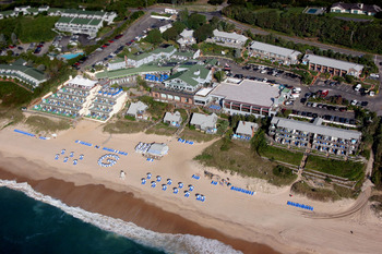Aerial View of Gurney's Inn Resort Spa