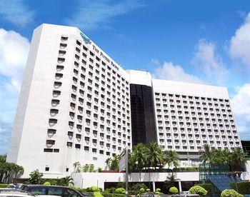 Exterior view of Puteri Pan Pacific Hotel Johor Bahru.