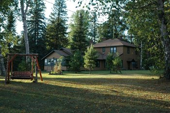 Lodge Exterior at Everett Bay Lodge
