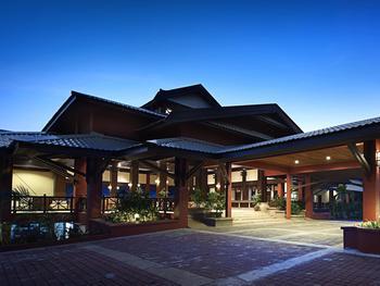 Exterior view of Berjaya Redang Golf & Spa Resort.