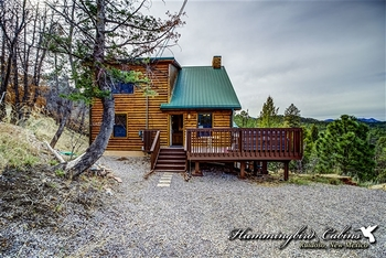 Exterior view of Hummingbird Cabins - Chatty Chipmunk Vacation Rental