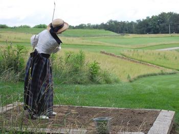 Golf course at Glenlaurel Inn.