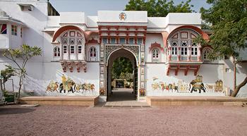 Exterior view of Rohet Garh.