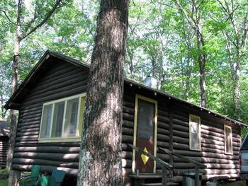 Cabin at Shady Nook Resort.
