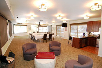 Group accommodations at Frias Properties of Aspen.