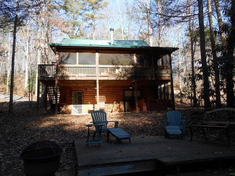 Blue ridge vacation rentals cabin enjoy the privacy of for Dogwood cabin
