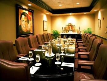 Meeting room at Grand Bohemian Hotel Orlando.