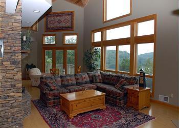 Rental Interior at Deep Creek Vacations