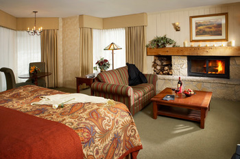 King Fireplace Suite at  Eagle Ridge Resort