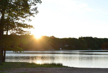 Lake view at Sojourn Lakeside Resort.