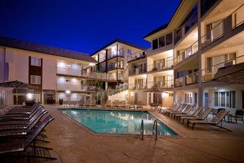 Outdoor pool at Beach Terrace Inn.