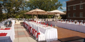 Outdoor event dining at Hassayampa Inn.