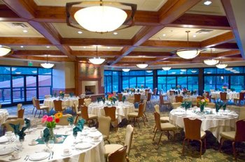 Wedding reception at Beaver Run Resort.