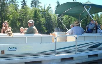 Family boating at Ash-Ka-Nam.