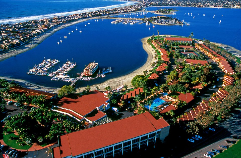 Aerial View of Bahia Resort Hotel