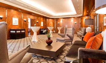 Lobby at Hotel am Schlossgarten.