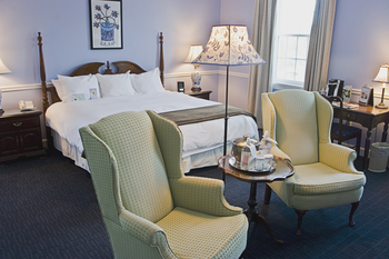Guest room at The Essex.
