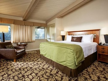 Guest room at Sycuan Resort and Casino.