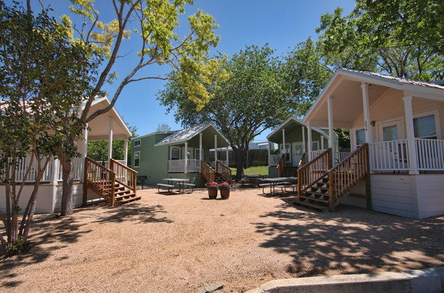 Exterior view of Hill Country RV Resort & Cottage Rentals.