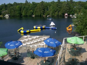 Water Toys at Rocky Crest Golf Resort
