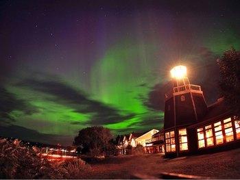 Night sky at The Inn on Madeline Island.