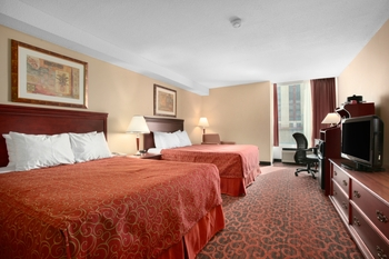 Guest Room at the Ramada Hotel Niagara Falls