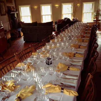 5 course meals at The Red Clover Inn Restaurant & Tavern.