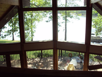 View cottage at Shawnee Bay Resort.