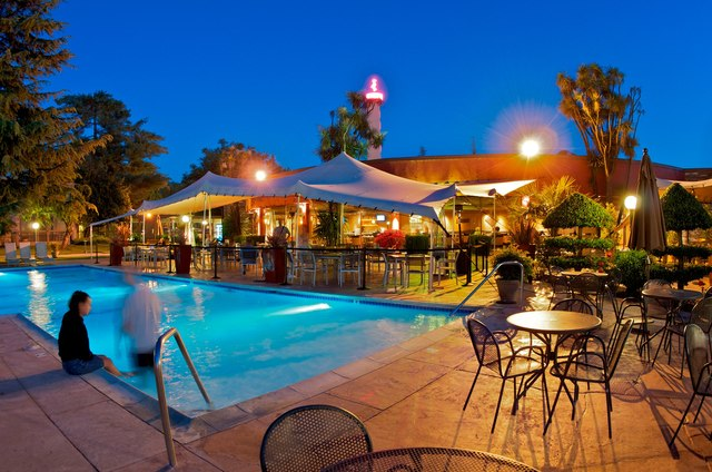 Outdoor pool at Flamingo Conference Resort and Spa.